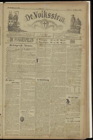 De Volksstem 1910-03-19