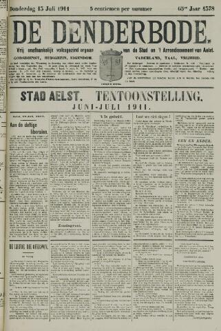 De Denderbode 1911-07-13