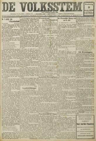 De Volksstem 1930-10-09