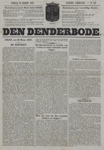 De Denderbode 1857-03-22