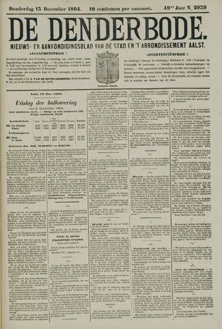 De Denderbode 1894-12-13