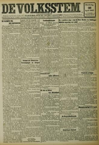De Volksstem 1923-04-26