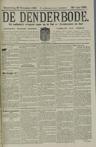 De Denderbode 1903-11-19