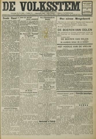 De Volksstem 1931-12-06
