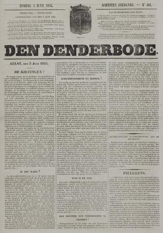De Denderbode 1854-06-04