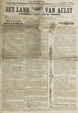 Het Land van Aelst 1878