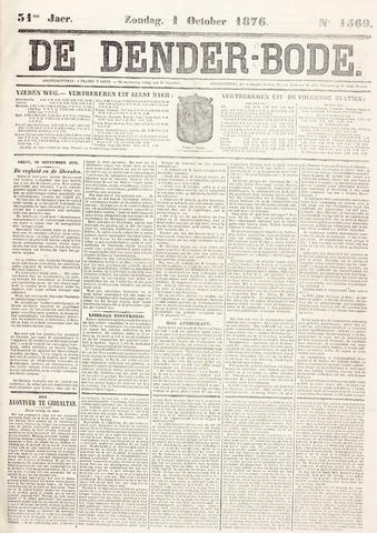 De Denderbode 1876-10-01
