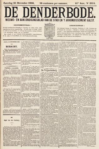 De Denderbode 1886-12-26