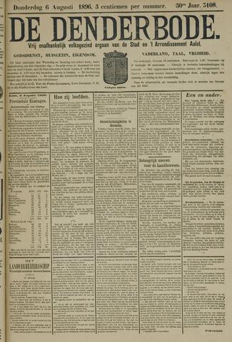 De Denderbode 1896-08-06