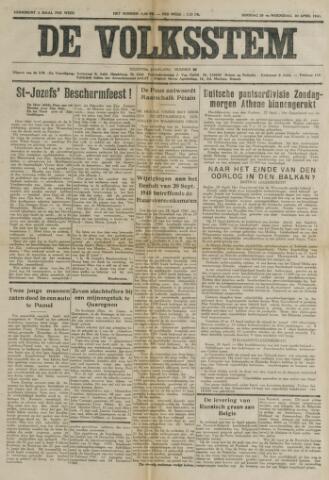 De Volksstem 1941-04-29