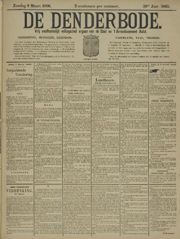 De Denderbode 1896-03-08