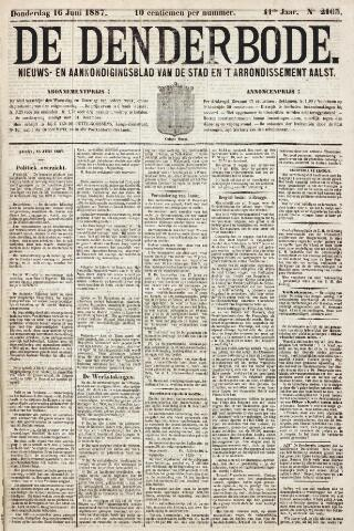 De Denderbode 1887-06-16