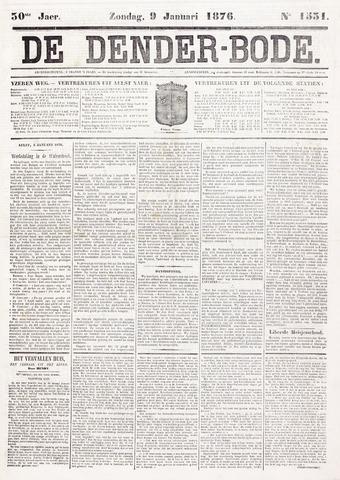 De Denderbode 1876-01-09