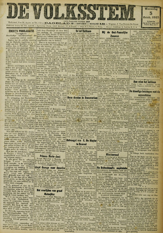De Volksstem 1923-10-03
