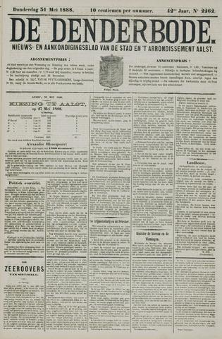 De Denderbode 1888-05-31