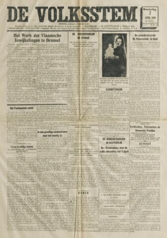De Volksstem 1938-04-07