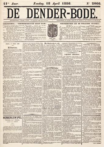 De Denderbode 1886-04-18