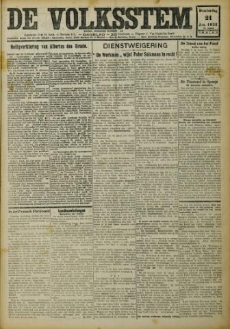De Volksstem 1932-01-21