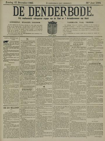 De Denderbode 1903-12-13