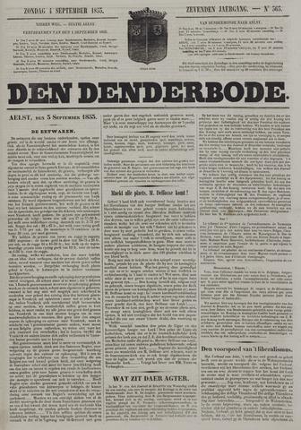 De Denderbode 1853-09-04