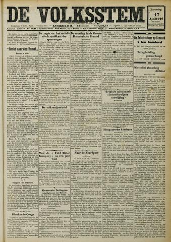 De Volksstem 1926-04-17