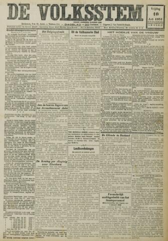 De Volksstem 1931-07-10