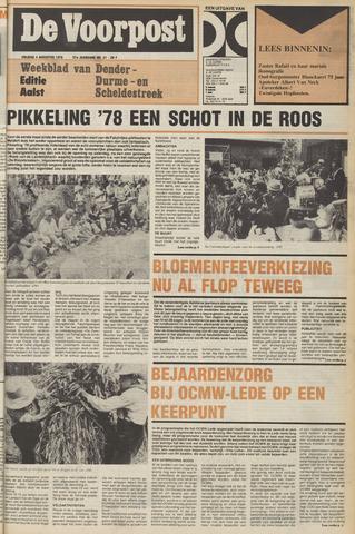 De Voorpost 1978-08-04