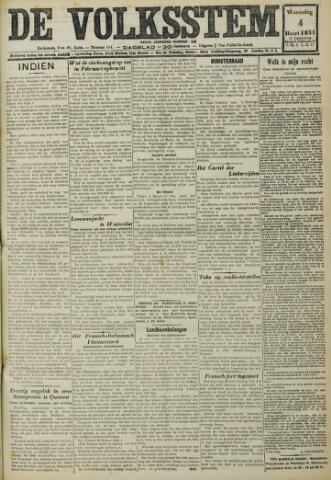 De Volksstem 1931-03-04