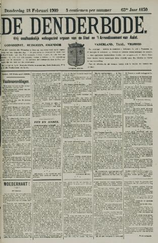 De Denderbode 1909-02-18