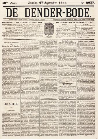 De Denderbode 1885-09-27
