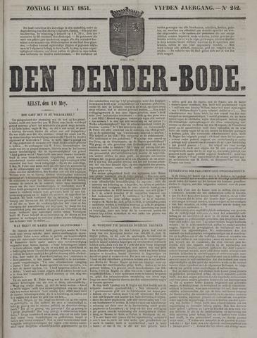 De Denderbode 1851-05-11