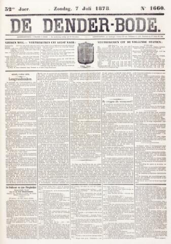 De Denderbode 1878-07-07