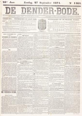 De Denderbode 1874-09-27