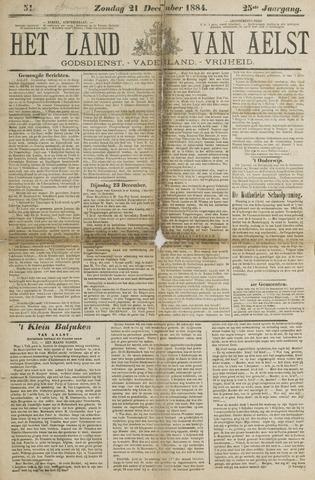 Het Land van Aelst 1884-12-21