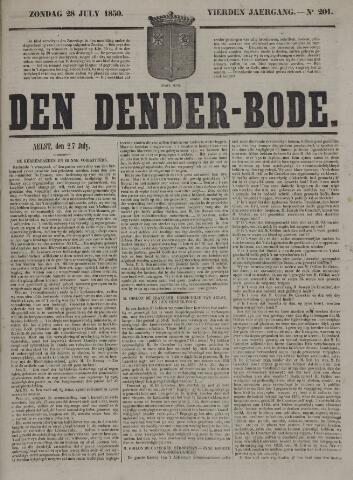 De Denderbode 1850-07-28