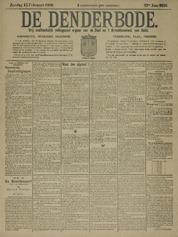De Denderbode 1898-02-13
