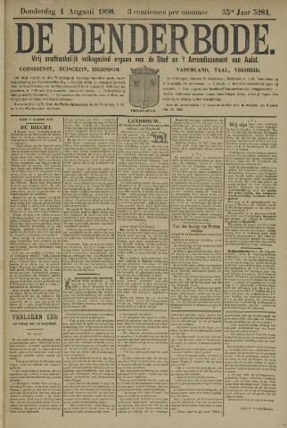 De Denderbode 1898-08-04