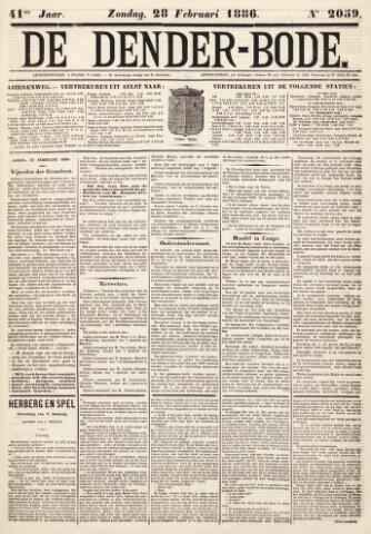 De Denderbode 1886-02-28