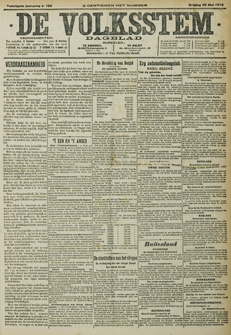 De Volksstem 1914-05-29