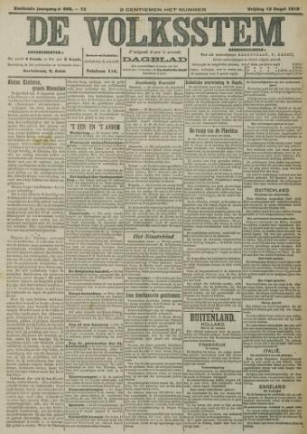 De Volksstem 1910-08-12