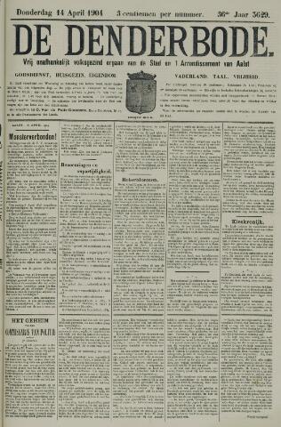 De Denderbode 1904-04-14