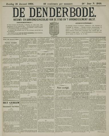 De Denderbode 1894-01-21