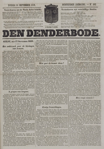 De Denderbode 1859-09-18