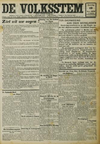 De Volksstem 1932-11-19