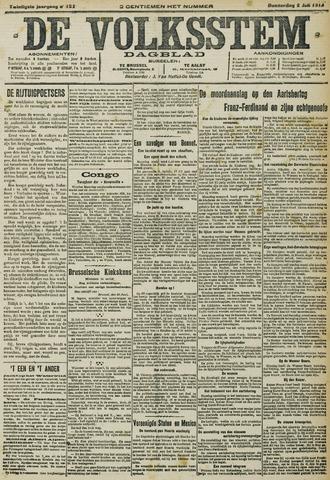 De Volksstem 1914-07-02