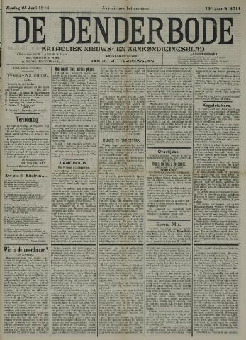 De Denderbode 1916-06-25