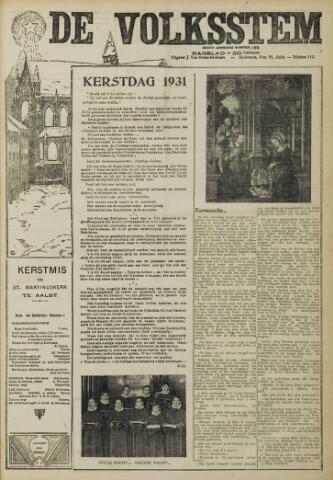 De Volksstem 1931-12-25