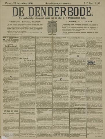 De Denderbode 1896-11-22