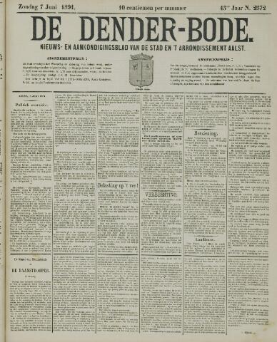 De Denderbode 1891-06-07
