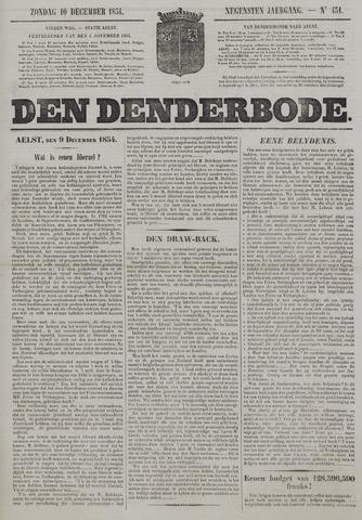 De Denderbode 1854-12-10